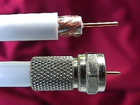 Как удлинить телевизионный кабель