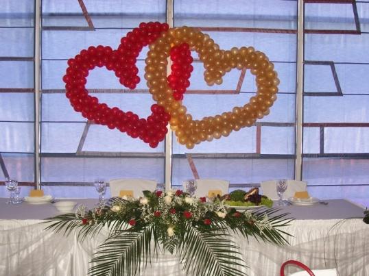 КАК сделать сердце из воздушных шариков как сделать двойное сердце из шаров своими руками Рукоделие
