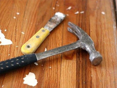 Как поменять деревянный пол