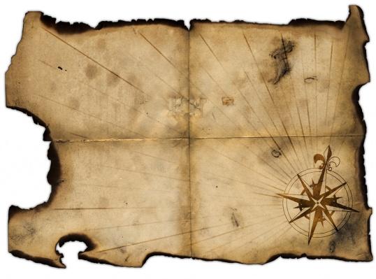 Как сделать карту сокровищ