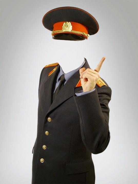 В присутствии дежурного ведите себя уверенно и показывайте, что обладаете знанием законов и обязанностей милиции