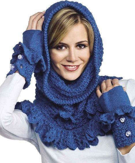 Как связать шарф просто - Всё о шарфах здесь