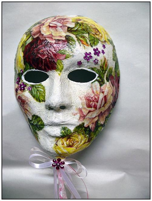 Смотрите какая красивая и реалистичная маска получилась