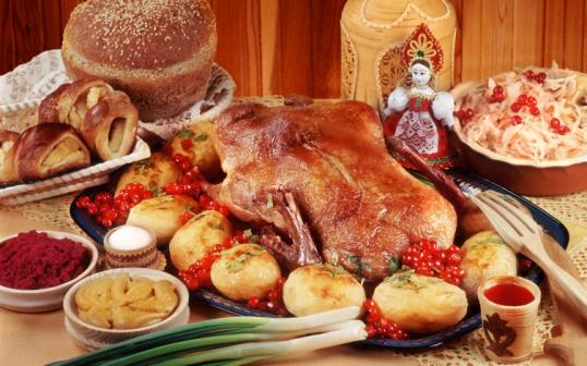 Традиционное рождественское блюдо!