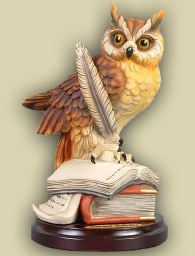 Сова - олицетворение мудрости и знаний.