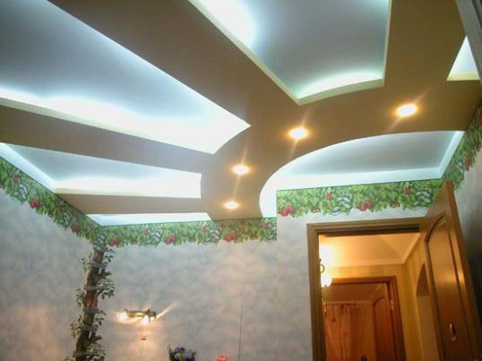 Как сделать потолок самостоятельно