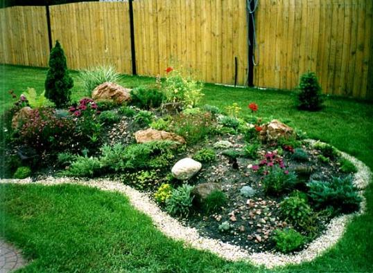 Совет 1 как украсить сад огород