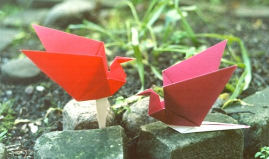 Оригами - пусть ваши желания исполняются