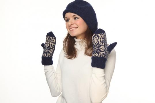 Как связать варежки перчатки
