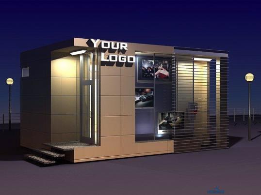 Как построить торговый павильон