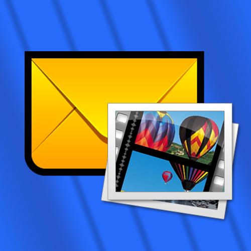 Как отправить фильм по почте