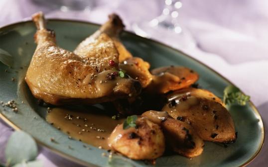 Как пожарить курицу с картошкой