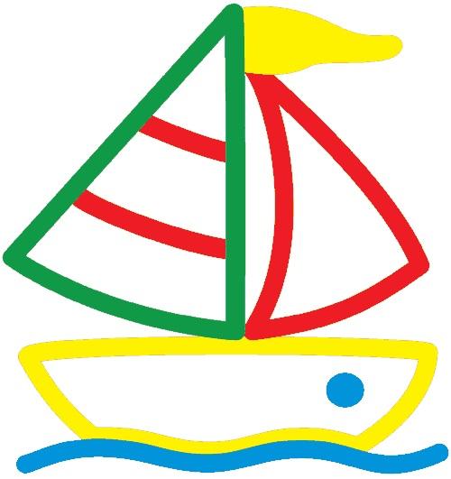 Как нарисовать кораблик