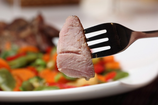 Вкусное и сытное мясное блюдо.
