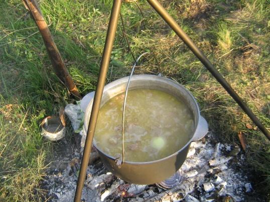 Как готовить на костре