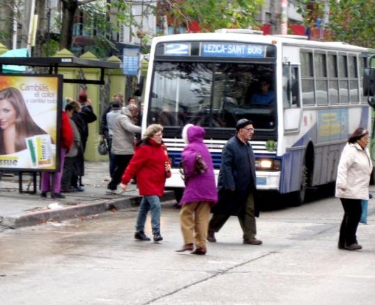 Как обходить стоящий автобус