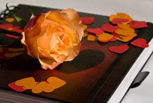 Как сделать свадебную книгу пожеланий