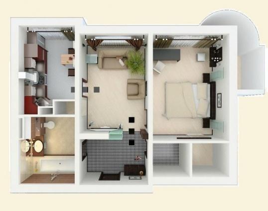 Как нарисовать схему квартиры