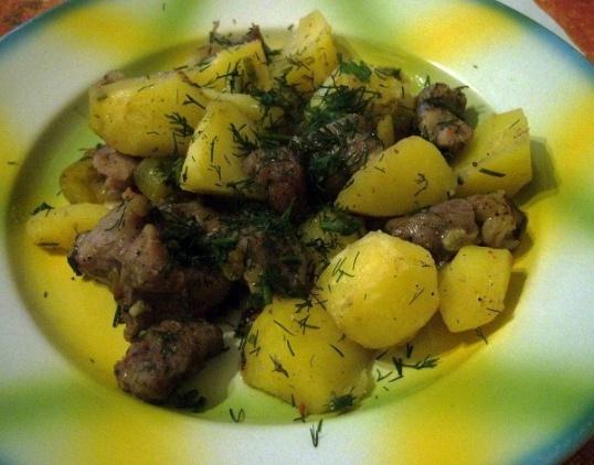 Как вкусно приготовить картошку с мясом