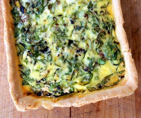 Как приготовить картофель, запеченный со шпинатом