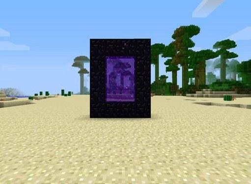 Как построить портал в Minecraft