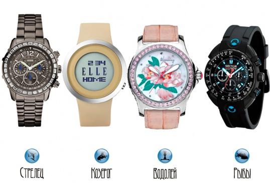 Как подобрать часы для знака зодиака