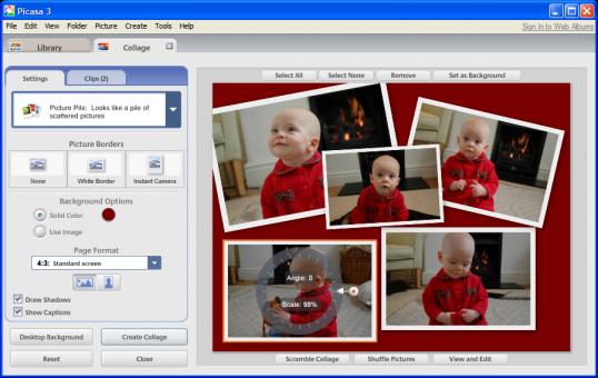 Как редактировать снимки в Picasa Фотография