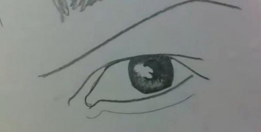 Как нарисовать глаза карандашом Рисование