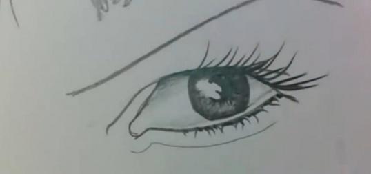Вопрос нарисовать глаза карандашом Рисование