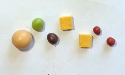 Вопрос сделать еду из пластилина  Мастер-класс