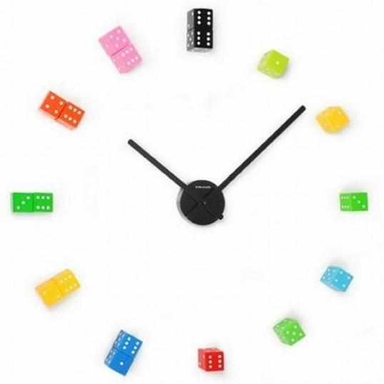 Вопрос сделать часы из кубиков Hand-made