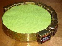 Вопрос сделать новогодние часики из конфет Hand-made