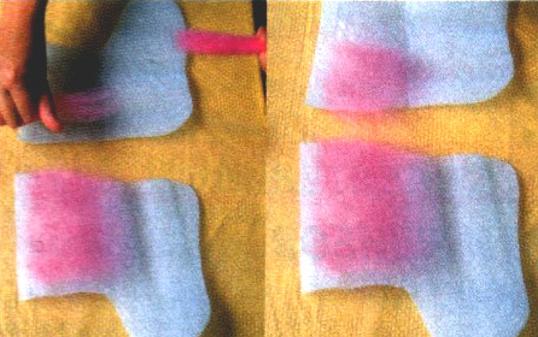 валяние носков