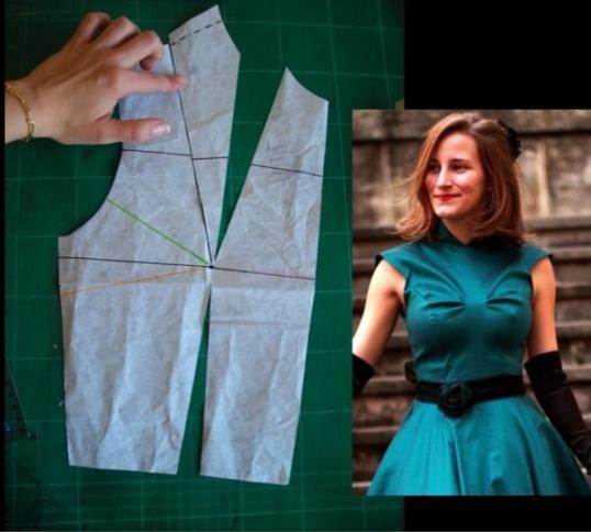 Как построить базовую выкройку платья  Мастер-класс