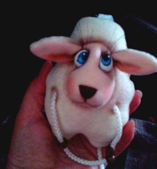 МИЛАЯ овечка – новогодний сувенир Мастер-класс