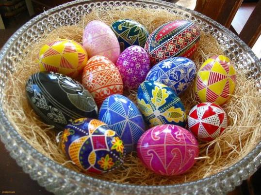 10 способов украшения яиц