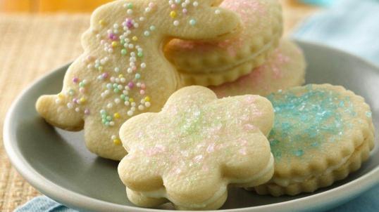 Как испечь печенье Пасхальные зайки