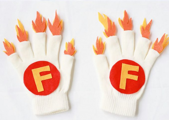 Как необычно украсить перчатки Мастер-класс