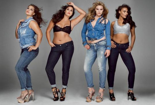 Как выбрать стильную женскую одежду больших размеров