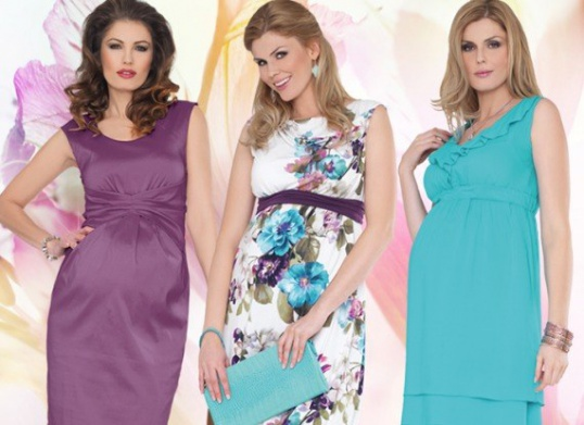 Как сшить летнее платье на беременную Мастер-класс