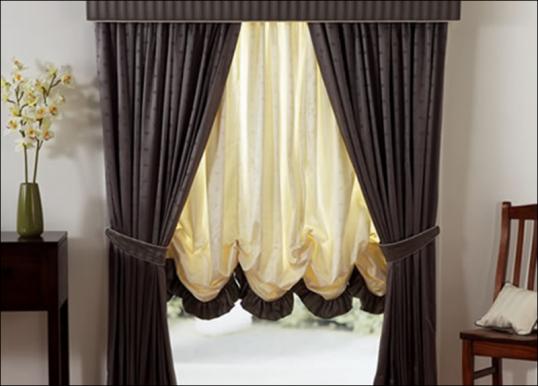 Шитые шторы мастер класс поделка #8