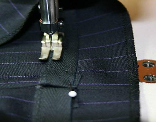 Как подшить брюки с помощью ленты Мастер-класс