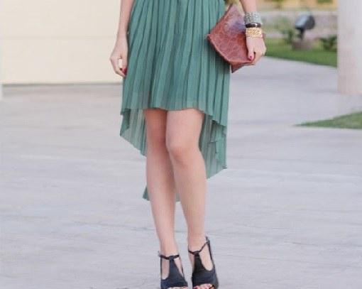 Как можно сшить ассиметричную юбку  Мастер-класс