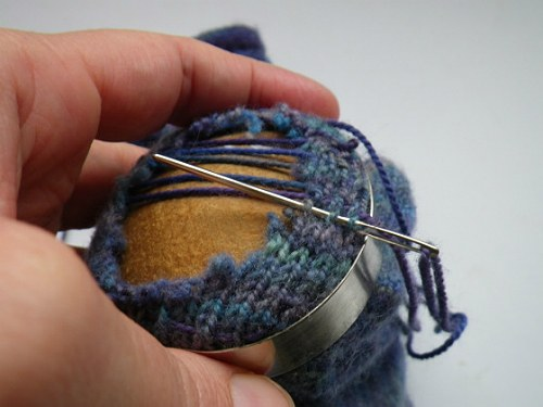 зашивание носка