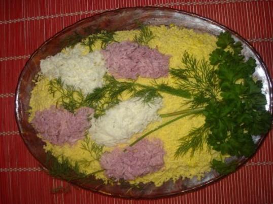 Рецепт салата редька
