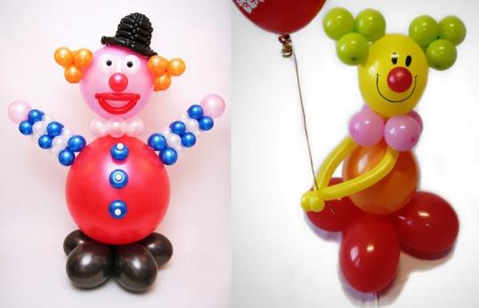 Украшение своими руками из воздушных шаров