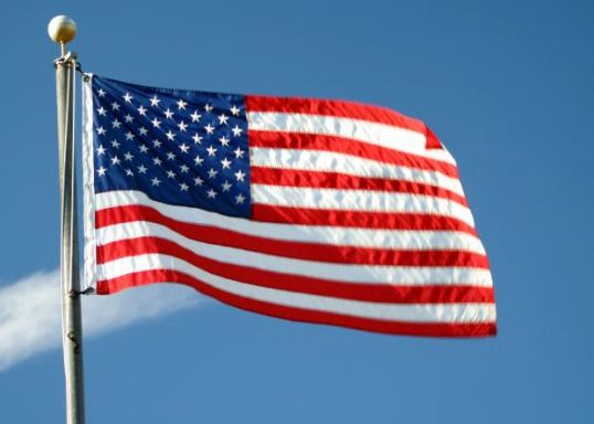 Как связать кофту с американским флагом Мастер-класс