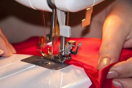 Как сшить коврик из отстатков ткани Мастер-класс