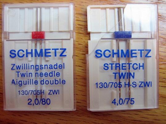 ЗАЧЕМ нужна двойная игла для швейной машины  Мастер-класс