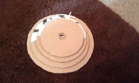 САМОДЕЛЬНАЯ подставка для сережек Hand-made